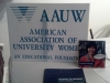Spreading the word about AAUW!